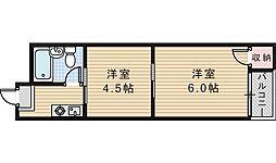 駒川エンビィハイツ[8階]の間取り