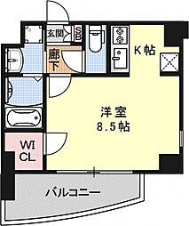 サムティ京都二条[902号室号室]の間取り