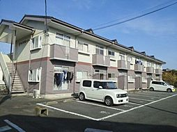 群馬県高崎市中豊岡町の賃貸アパートの外観