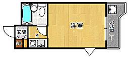 ジョイフル武庫之荘1[2階]の間取り