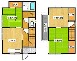 [一戸建] 千葉県市川市国分2丁目 の賃貸【/】の間取り