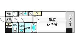 エスライズ新大阪フロント[3階]の間取り