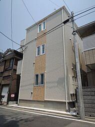 神奈川県横浜市鶴見区潮田町4丁目の賃貸アパートの外観