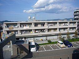 福岡県糟屋郡粕屋町若宮2丁目の賃貸マンションの外観
