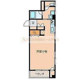 ミア・カーサ堺東[2階]の間取り