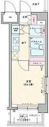 ロアール早稲田大学前弐番館[4階]の間取り