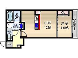 仮称)山崎マンション元町[2階]の間取り