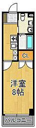 エフティマンション[4階]の間取り