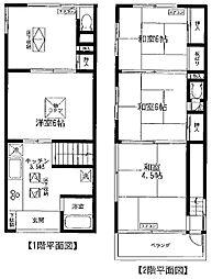 [一戸建] 東京都豊島区南池袋4丁目 の賃貸【/】の間取り