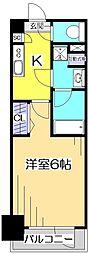 グランド・ガーラ立川[9階]の間取り
