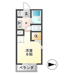 U・TOPIA 16[1階]の間取り