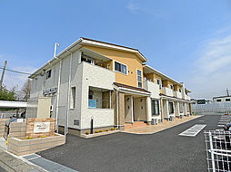 埼玉県越谷市相模町5丁目の賃貸アパートの外観