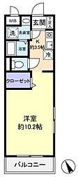 Vegaアルテア[1階]の間取り