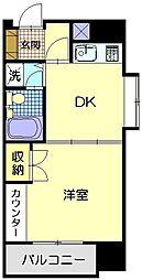ライオンズマンション千秋公園[710号室]の間取り