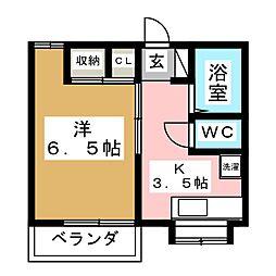 メゾンII727[2階]の間取り