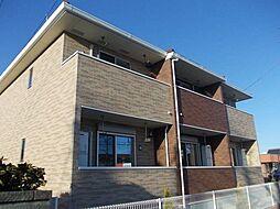 JR東北本線 郡山駅 バス25分 島西下車 徒歩2分の賃貸アパート
