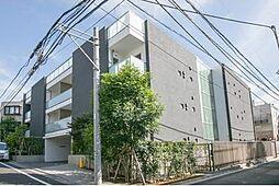 東京都渋谷区神宮前4丁目の賃貸マンションの外観