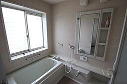 ゆったりとくつろげる浴室です