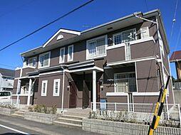 愛知県岡崎市西蔵前町字西屋敷の賃貸アパートの外観