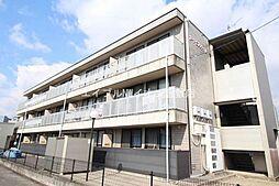 岡山県倉敷市西中新田の賃貸マンションの外観