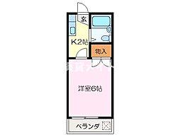 カレッジハウスPart2[2階]の間取り