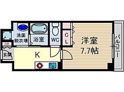 シャンピアコート茨木[5階]の間取り