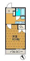神奈川県相模原市南区上鶴間本町3丁目の賃貸マンションの間取り