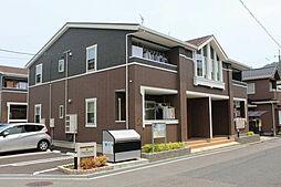 広島県広島市佐伯区利松2丁目の賃貸アパートの外観