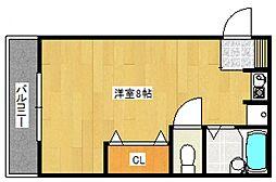 コーポレーヴ[2階]の間取り