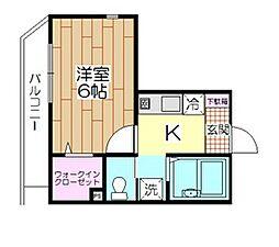 メゾンT・K[301号室]の間取り