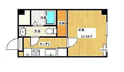 MKMマンション[302号室]の間取り