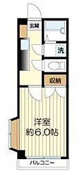 サンテリア三田II[3階]の間取り