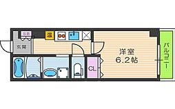 みおつくし都島[7階]の間取り