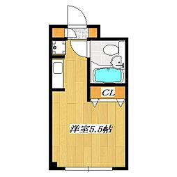 EstateTIME The 3rd[417号室]の間取り