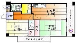 メゾンサクラ16[3階]の間取り