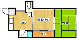 エキスポマンション[3階]の間取り