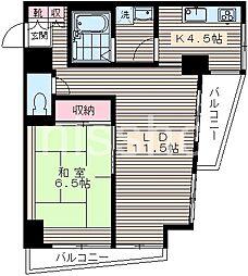 6060-ウィスタリアハウス[9階]の間取り