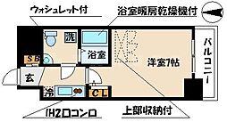 アドバンス心斎橋ラシュレ[9階]の間取り
