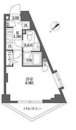 ムーブメンツ西早稲田[0202号室]の間取り