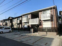 愛知県稲沢市北市場本町4の賃貸アパートの外観