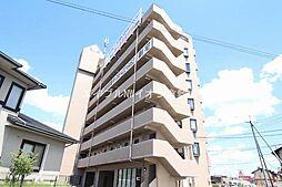 岡山県倉敷市玉島爪崎の賃貸マンションの外観
