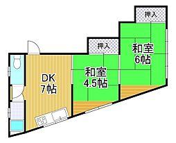 佐藤マンション[3階]の間取り