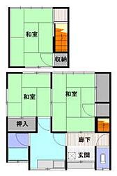 高宮アパート[1階]の間取り