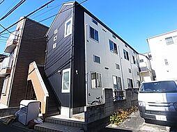 東京都足立区足立2丁目の賃貸アパートの外観
