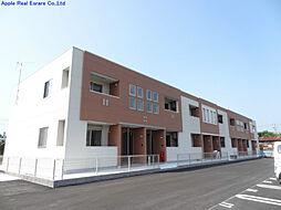 福岡県遠賀郡水巻町猪熊9丁目の賃貸アパートの外観