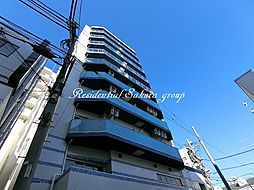 神奈川県茅ヶ崎市幸町の賃貸マンションの外観