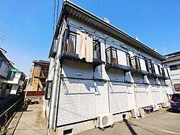 神奈川県横浜市港北区仲手原2丁目の賃貸アパートの外観