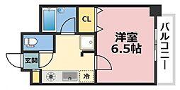 オズレジデンス新深江[4階]の間取り