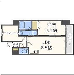 サムティ福島LaLuna[3階]の間取り