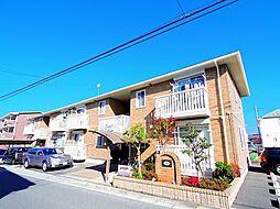 埼玉県ふじみ野市駒西2丁目の賃貸アパートの外観